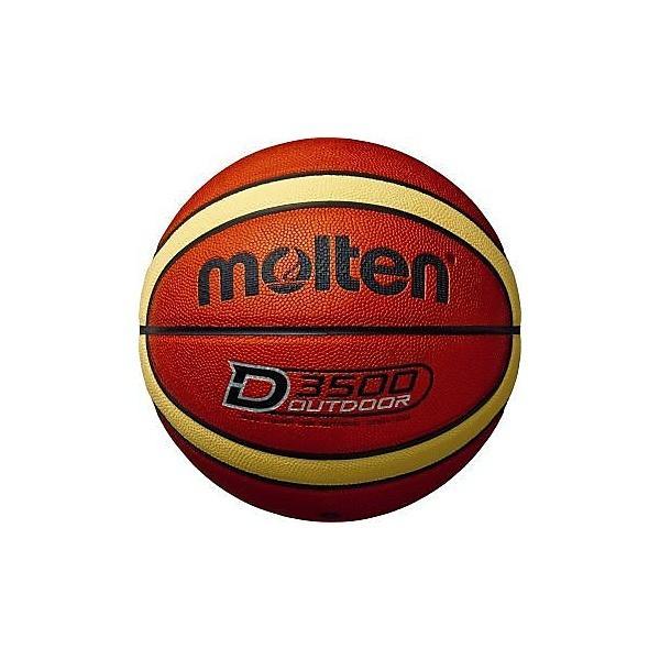 molten(モルテン)バスケットボール 7号ボール アウトドアバスケットボール B7D3500 メンズ 7号球 オレンジxクリーム