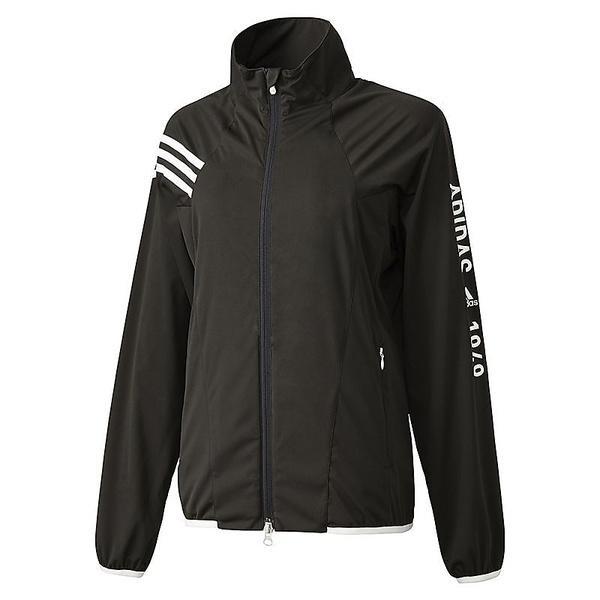 (セール)(送料無料)adidas(アディダス)ゴルフ レディースジャケット JP CP ストレッチ L/Sウインド CCM42-N67735 レディース ブラック