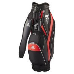 (送料無料)adidas(アディダス)ゴルフ メンズキャディーバッグ キャディバッグ4 AWR92-A10229 メンズ FREE ブラック/レッド