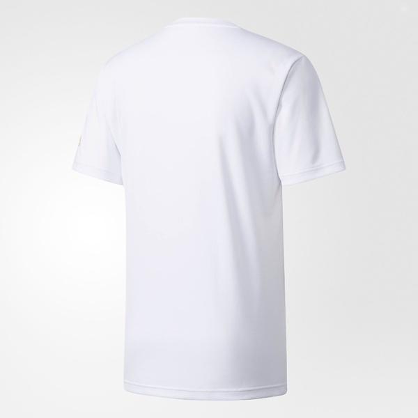 (セール)adidas(アディダス)バスケットボール メンズ 半袖Tシャツ NBA1ポイントロゴ半袖Tシャツ DKK38 BQ6197 メンズ ホワイト