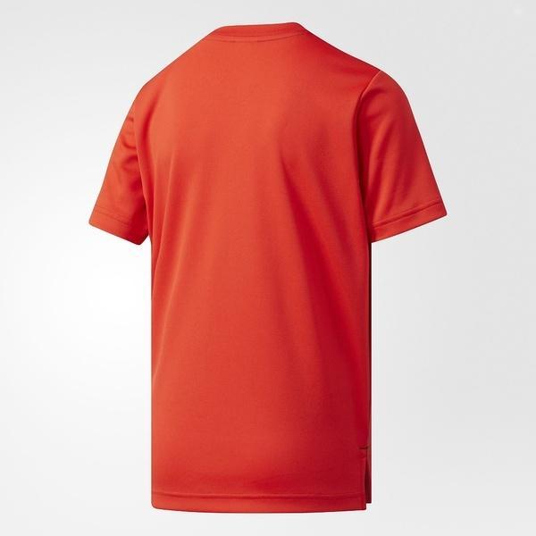 (セール)adidas(アディダス)バスケットボール ジュニア 半袖Tシャツ KIDS SPG Tシャツ DKK44 BR0577 ボーイズ コアレッド S17