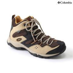 (送料無料)Columbia(コロンビア)トレッキングシューズ レディース ウィメンズセイバー?ミッドオムニテック YL5259-241 レディース OATMEAL PILSNER