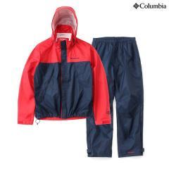 (送料無料)Columbia(コロンビア)トレッキング アウトドア メンズレインウェア シンプソンサンクチュアリレインスーツ PM0124-610 メンズ INTENSE RED