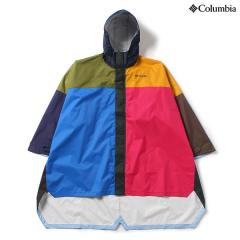 (セール)(送料無料)Columbia(コロンビア)トレッキング アウトドア ポンチョ スペイパインズポンチョ PU1482-600 BRIGHT ROSE MULTI