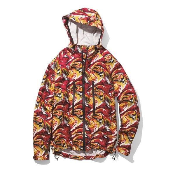 (セール)(送料無料)Columbia(コロンビア)トレッキング アウトドア 薄手ジャケット エジソンパスジャケット PM5485-610 メンズ INTENSE RED MARBLE
