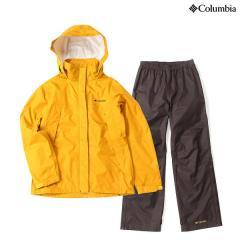 (送料無料)Columbia(コロンビア)トレッキング アウトドア レディースレインウェア シンプソンサンクチュアリーウィメンズレインスーツ PL0125-705 レディース GOLDEN YELLOW