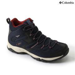 (セール)(送料無料)Columbia(コロンビア)トレッキングシューズ メンズ セイバー?ミッドオムニテック YM5259-439 メンズ ABYSS GARNET RED
