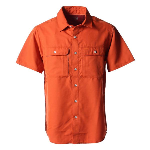 (送料無料)MOUNTAIN HARDWEAR(マウンテンハードウェア)トレッキング アウトドア 半袖Tシャツ キャニオンソリッドショートスリーブシャツ OE7044-846 メンズ 846