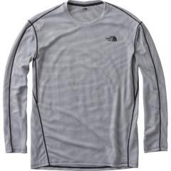 (セール)THE NORTH FACE(ノースフェイス)トレッキング アウトドア 長袖Tシャツ ロングスリーブフラッシュドライクールクルー NT11713 メンズ W