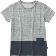 THE NORTH FACE(ノースフェイス)トレッキング アウトドア 半袖Tシャツ ショートスリーブツートーンポケットティー NTW31738 レディース Z