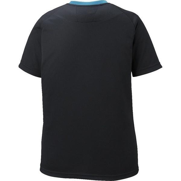(セール)ASICS(アシックス)バレーボール 半袖プラクティスシャツ W'SプラシヤツHS XW6224.9037 レディース BKXGブルー