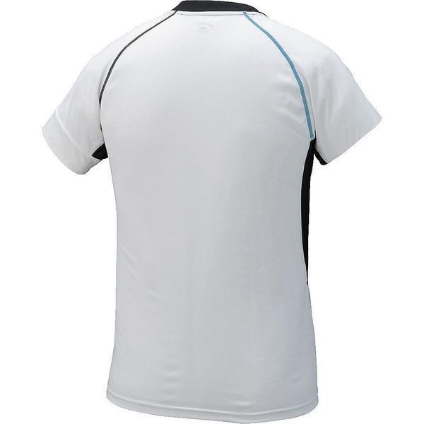 (セール)ASICS(アシックス)バレーボール ゲームユニフォーム ブレードゲームシヤツHS XW6722.01 ホワイト