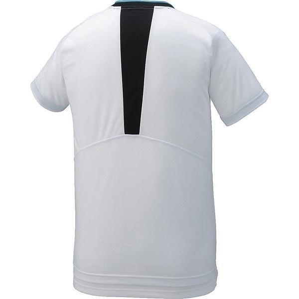 (セール)ASICS(アシックス)バレーボール 半袖プラクティスシャツ プラシヤツHS XW6725.01 ホワイト