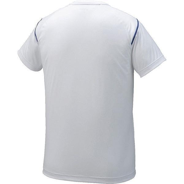 ASICS(アシックス)バレーボール 半袖プラクティスシャツ プラシヤツHS XW6729.01 ホワイト