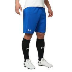 アーマー (セール)UNDER ARMOUR(アンダーアーマー)サッカー ウォームアップ ハーフパンツ UA FOOTBALL CHALLENGER PRACTICE SHORT 1295448 400 メンズ RYL/SIL