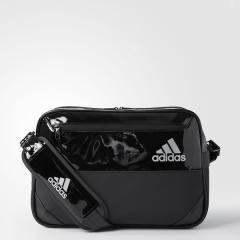 (セール)adidas(アディダス)スポーツアクセサリー エナメルバッグ HARD エナメル M DMC97 BS0723 NS ブラック/ブラック
