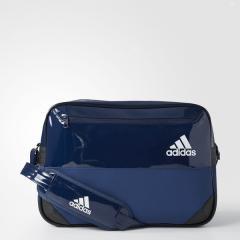 (セール)(送料無料)adidas(アディダス)スポーツアクセサリー エナメルバッグ HARD エナメル L DMC96 BS0724 NS カレッジネイビー/ミステリーブルー S17