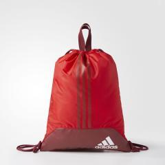 (セール)adidas(アディダス)スポーツアクセサリー ナップサック EPS ジムバッグ DMD09 BS0749 NS スカーレット/カレッジエイトバーガンディ