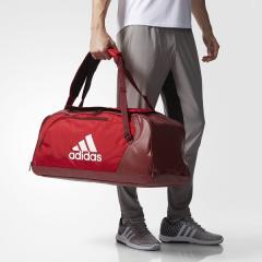 (セール)adidas(アディダス)スポーツアクセサリー ボストンバッグ EPS チームバッグ 50 DMD01 BS0798 NS スカーレット/カレッジエイトバーガンディ