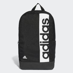 adidas(アディダス)スポーツアクセサリー バッグパック リニアロゴバックパック BVB25 S99967 NS ブラック/ブラック/ホワイト
