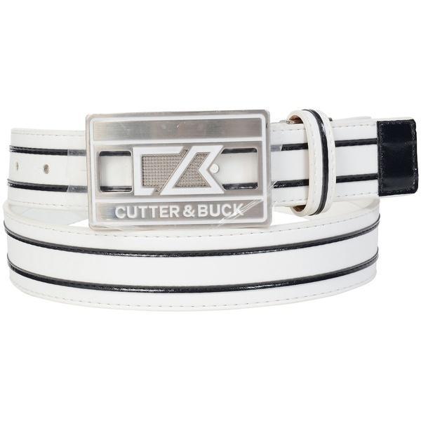(送料無料)CUTTER AND BUCK(カッターアンドバック)ゴルフ アクセサリー ロゴバックルベルト CBM0734 メンズ F N942