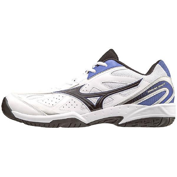 (送料無料)MIZUNO(ミズノ)テニス バドミントン オールコート ブレイクショット AC 61GA174009 09:ホワイトxブラックxブルー