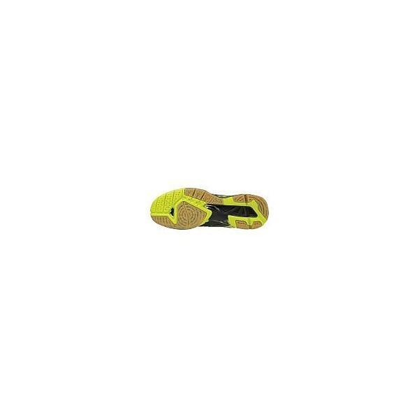 (送料無料)MIZUNO(ミズノ)バレーボール シューズ ローカット WAVE TORNADO X V1GA161293 ブラックxイエローxダークグレイ