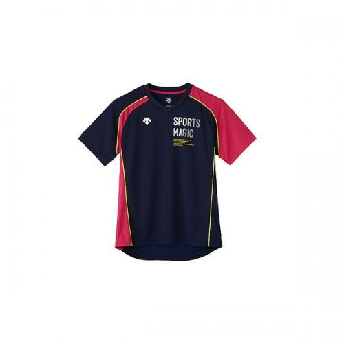 (セール)DESCENTE(デサント)バレーボール 半袖プラクティスシャツ 半袖プラクティスシャツ DVB-5726 DNMZ DNMZ