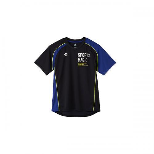 (セール)DESCENTE(デサント)バレーボール 半袖プラクティスシャツ 半袖プラクティスシャツ DVB-5726 BRY BRY