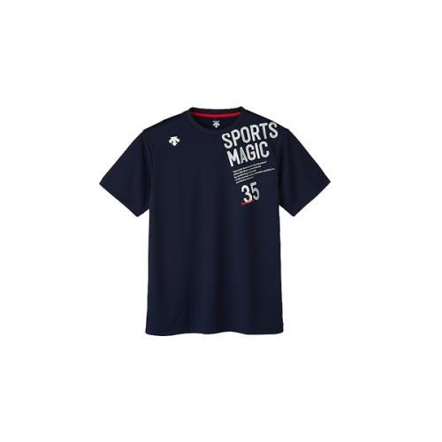 (セール)DESCENTE(デサント)バレーボール 半袖Tシャツ 半袖プラクティスシャツ DVB-5727B DNVY DNVY