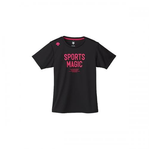 (セール)DESCENTE(デサント)バレーボール 半袖Tシャツ 半袖プラクティスシャツ DVB-5727DW BMZ レディース BMZ
