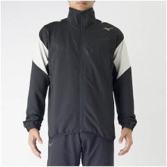 (セール)(送料無料)MIZUNO(ミズノ)メンズスポーツウェア ウインドアップジャケット PG ムーヴクロスシャツ 32MC714009 メンズ ブラック