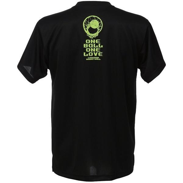 (セール)Champion(チャンピオン)バスケットボール メンズ 半袖Tシャツ PRACTICE TEE C3-KB312 メンズ ブラック