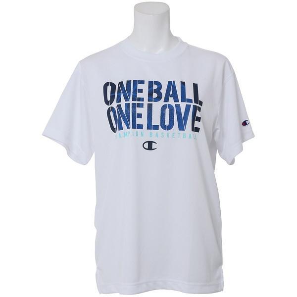 (セール)Champion(チャンピオン)バスケットボール レディース 半袖Tシャツ WOMENS PRACTICE TEE CW-KB317 レディース ホワイト