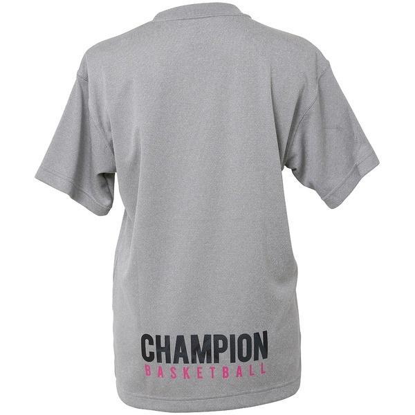 (セール)Champion(チャンピオン)バスケットボール レディース 半袖Tシャツ WOMENS PRACTICE TEE CW-KB317 レディース オックスフォードグレー