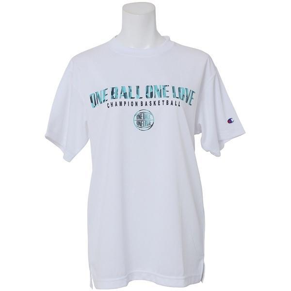 (セール)Champion(チャンピオン)バスケットボール レディース 半袖Tシャツ WOMENS PRACTICE TEE CW-KB320 レディース ホワイト