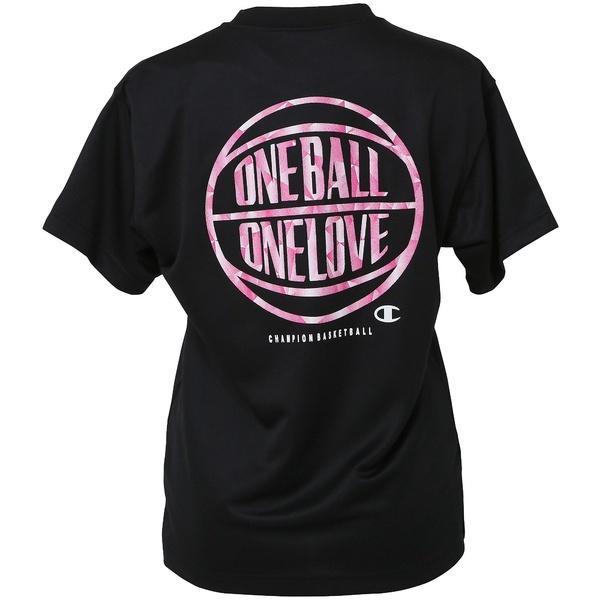 (セール)Champion(チャンピオン)バスケットボール レディース 半袖Tシャツ WOMENS PRACTICE TEE CW-KB320 レディース ブラック