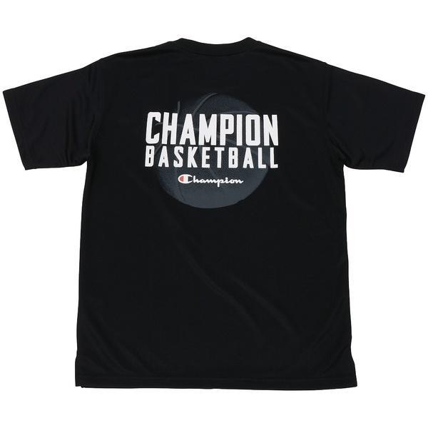 (セール)Champion(チャンピオン)バスケットボール ジュニア 半袖Tシャツ MINI PRACTICE TEE CK-KB323 ボーイズ ブラック