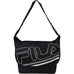 (セール)FILA(フィラ) スポーツアクセサリー ボディーバッグ メッセンジャーバッグ Mサイズ Z FM2028-BK ブラック