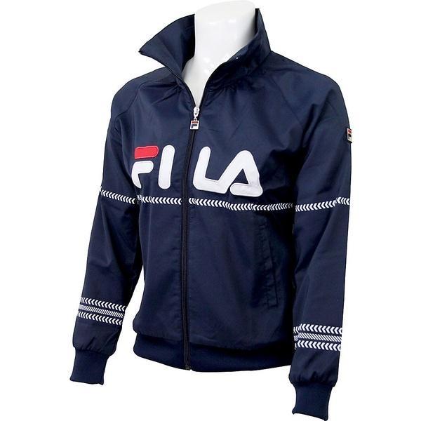 (送料無料)FILA(フィラ) テニス バドミントン レディースウインドアップ 61 ウィンドアップジャケット VL1380-20 レディース フィラネイビー