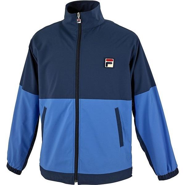 (送料無料)FILA(フィラ) テニス バドミントン ウインドアップ 61 ウィンドアップジャケット VM5200-16 メンズ ウルトラマリン