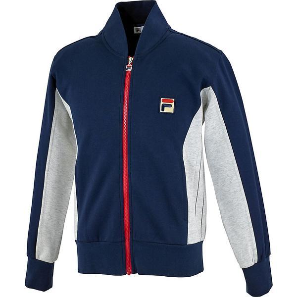 (送料無料)FILA(フィラ) テニス バドミントン インナー スウェット コート 61 トラックジャケット VM5207-20 メンズ フィラネイビー