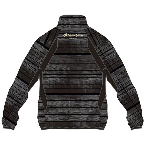 (セール)(送料無料)MIZUNO(ミズノ)野球 ウインドシャツ ブレーカーシャツMP17AW 12JE7W8109 ブラック