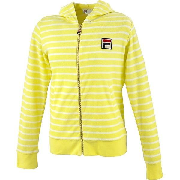 (セール)(送料無料)FILA(フィラ) テニス バドミントン レディース半袖シャツ 長袖シャツ 61 ジップパーカー VL1399-18 レディース 18