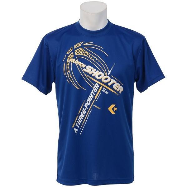(セール)CONVERSE(コンバース)バスケットボール メンズ 半袖Tシャツ プリントTシャツ CB271313-2500 メンズ RBLU