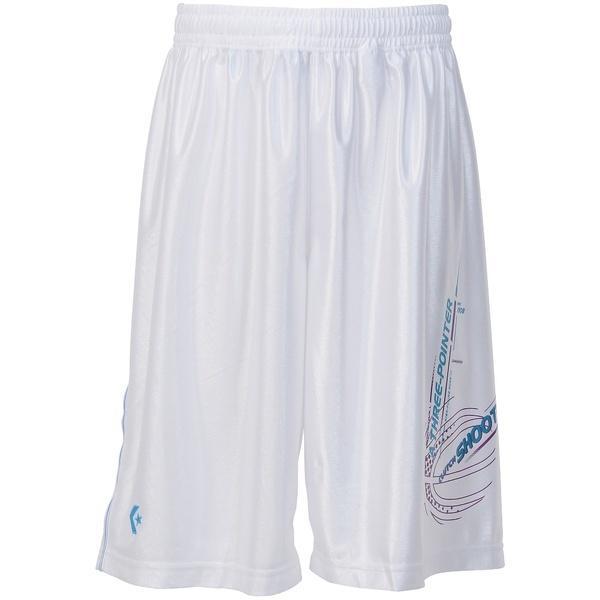 (セール)CONVERSE(コンバース)バスケットボール メンズ プラクティスショーツ プラクティスパンツ CB271813-1100 メンズ WHT
