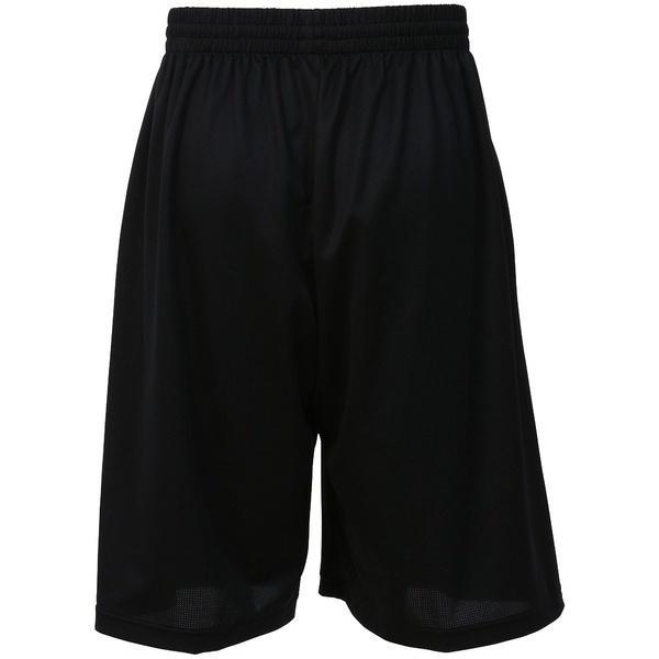 (セール)CONVERSE(コンバース)バスケットボール メンズ プラクティスショーツ 7S バックコートストレッチアクティブショーツ CBE271804-1956 メンズ ブラックオレンジ