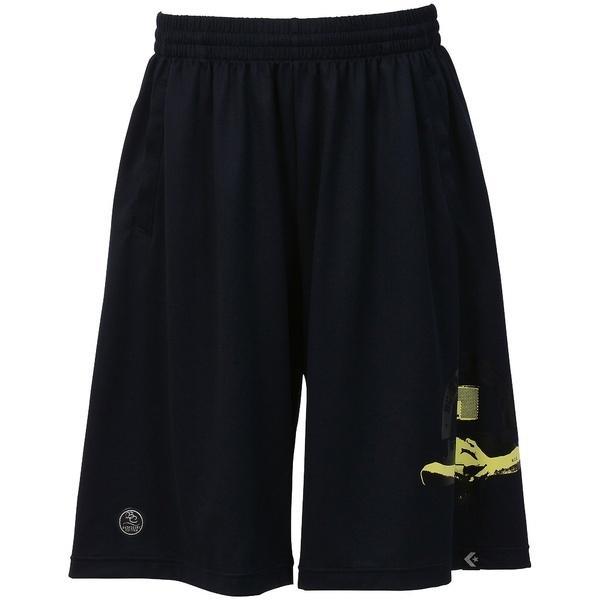 (セール)CONVERSE(コンバース)バスケットボール メンズ プラクティスショーツ 7S バックコートストレッチアクティブショーツ CBE271804-2900 メンズ ネイビー