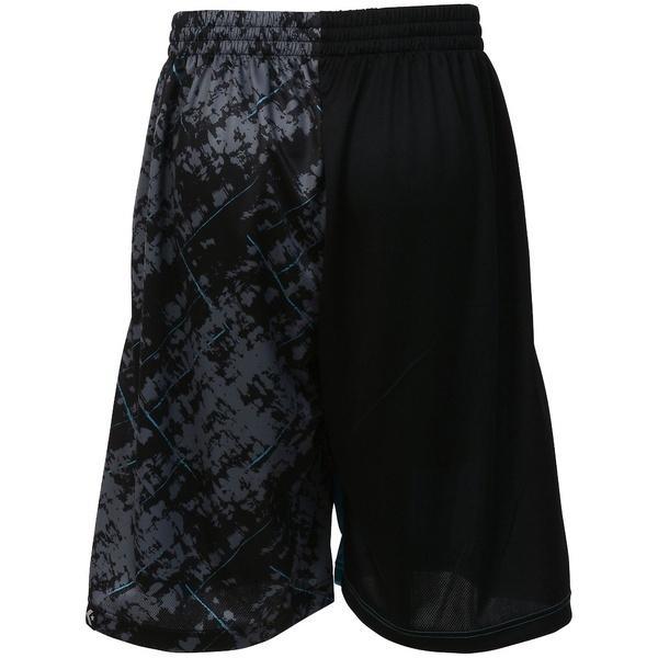 (セール)CONVERSE(コンバース)バスケットボール メンズ プラクティスショーツ 7S バックコートアクティブショーツ CBE271806-1923 メンズ ブラックターコイズ