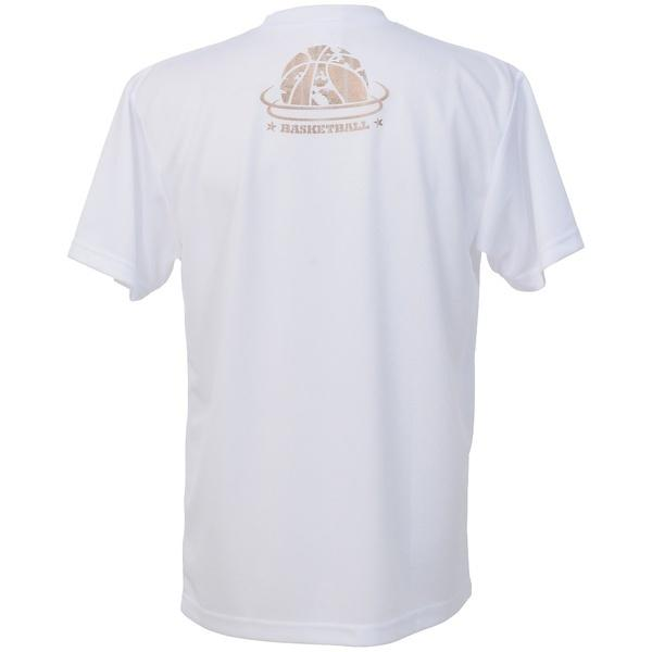 (セール)CONVERSE(コンバース)バスケットボール メンズ 半袖Tシャツ MENS PRINT T SHIRT CBC271319-1100 メンズ WHT
